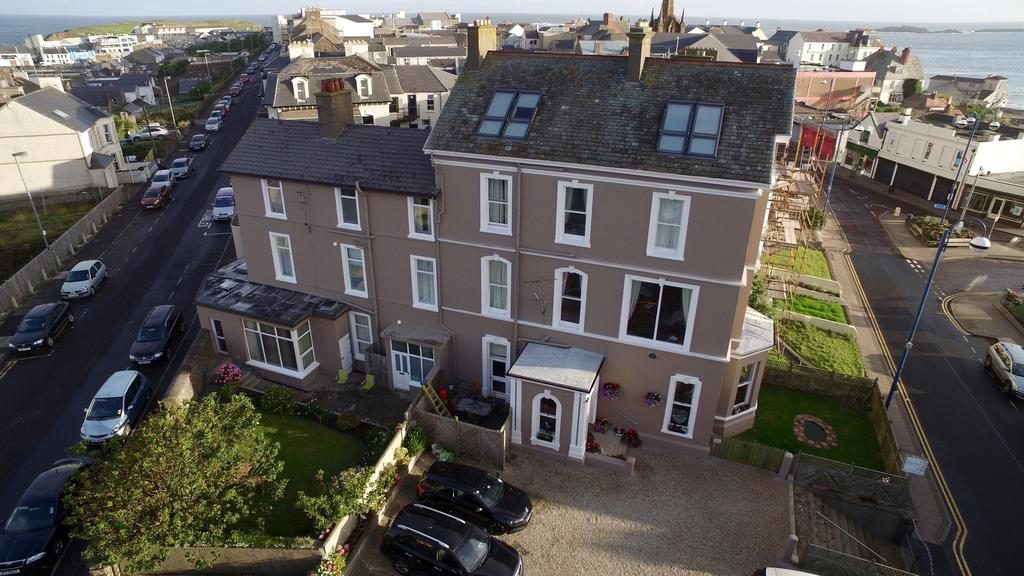 Antrim House Bed and bREAKFAST Visit Portrush Northenr Ireland Aerial view of front