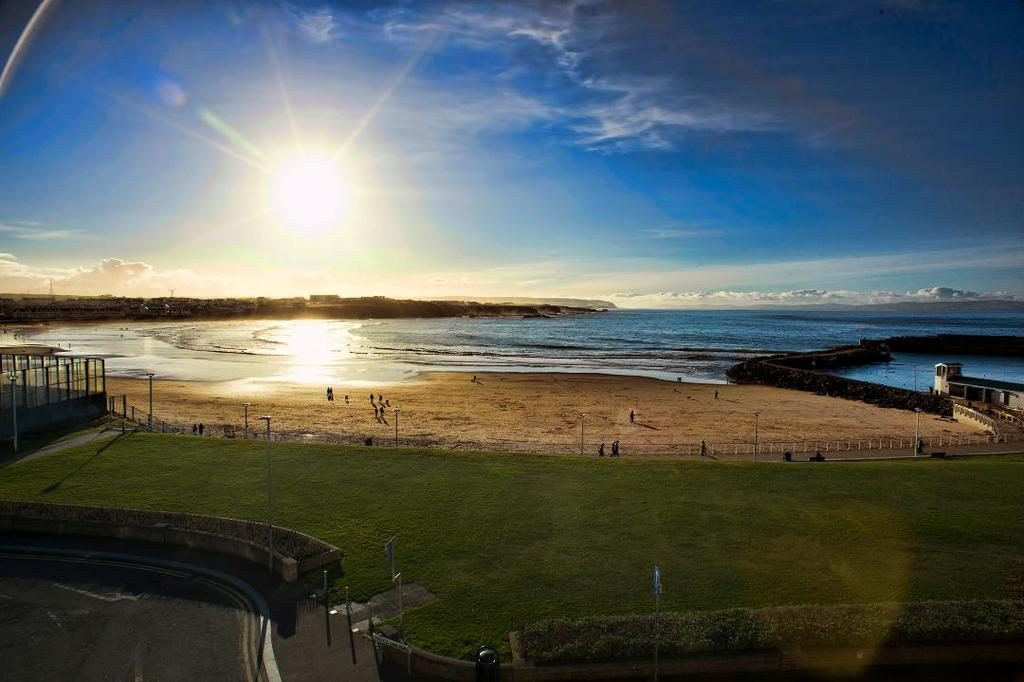 South Pier penthouse Visit Portrush Northen Ireland View from front window
