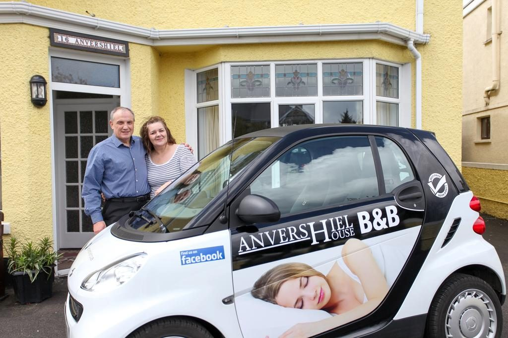 Anvershiel House owners welcoming quests
