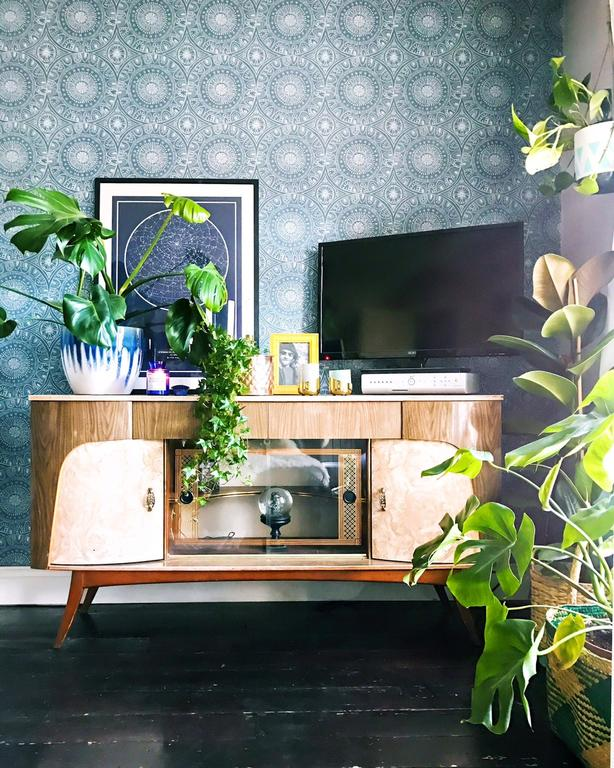 The Surfer's House TV stand