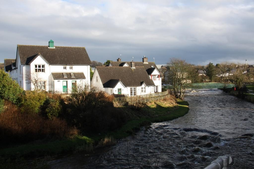 Achill accommodation next to the river