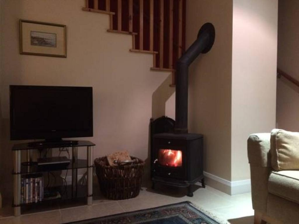 Bayview Farm Holiday Cottages fireplace
