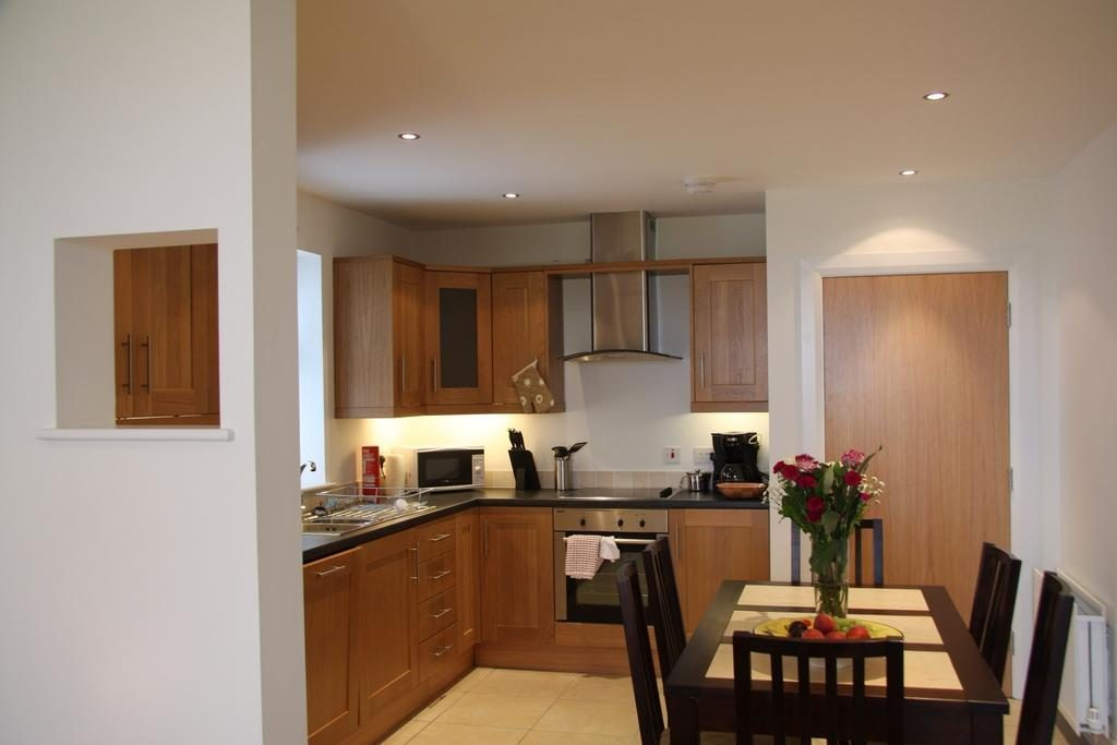 Bayview Farm Holiday Cottages kitchen & dining area
