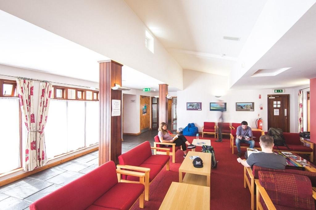 Bushmills Youth Hostel seating area