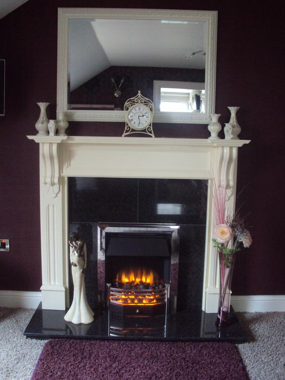 Causeway Lodge fireplace