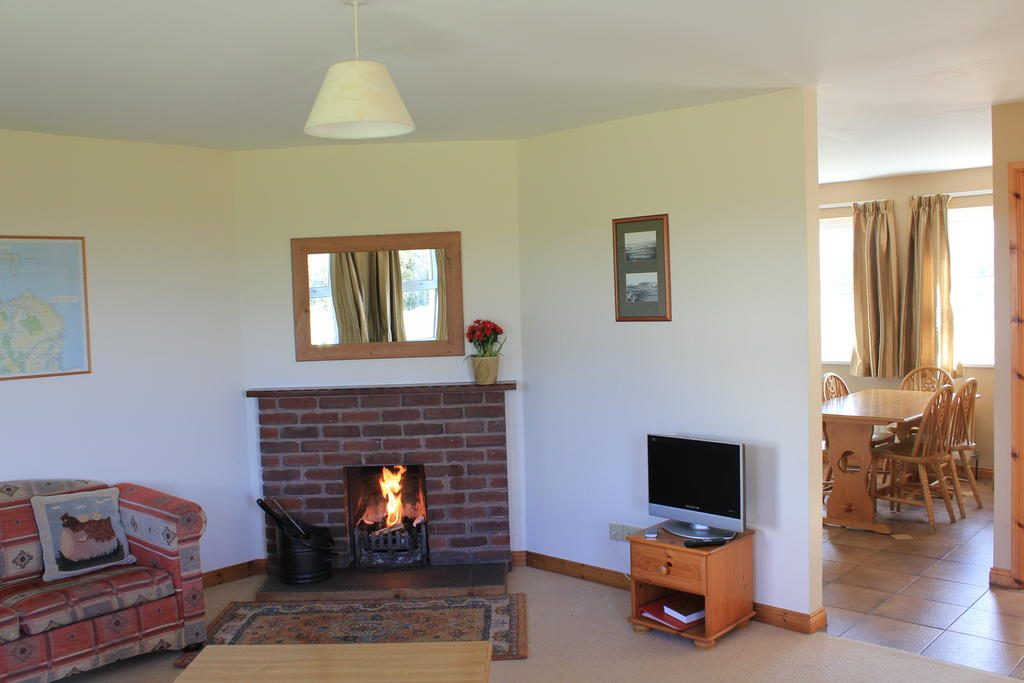 Giant's Causeway Holiday Cottages fireplace