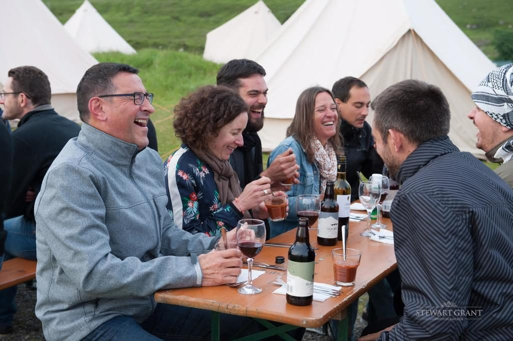 North West 200 - Boutique Glamping Village - dining place