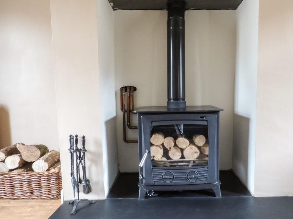 Rosies Cottage fireplace