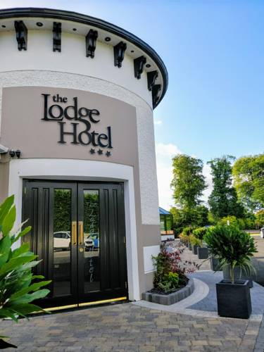 The Lodge Hotel main entrance