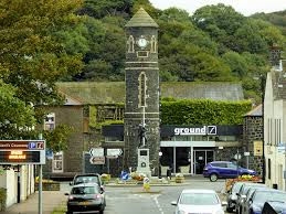 An image of the Clock Tower in the Market Square Bushmills