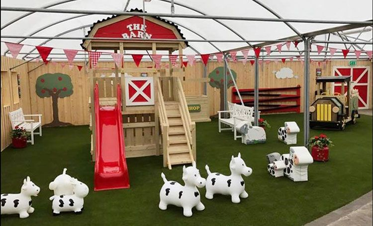 Creative gardens Cafe and outdoor kids play area bushmills
