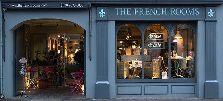 tHE french Rooms Cafe and restaurant bushmills