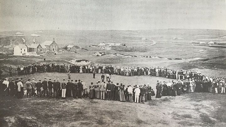 The-Old-18th-Green-at-Royal-Portrush-in-1895